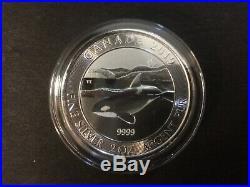 2019 Canada $10 2oz Canadian Orca Fine Silver 2 oz Bullion coin