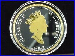 2019 Canada $1 Fine Silver Masters Club Renewed Silver Dollar Peacekeeping