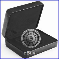 2019 Canada 3 oz Centennial Flame of Canada Antique Finish Silver Proof Coin