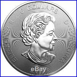 2019 Canada Silver Grizzly 1oz 9999 Predator Series BU Coin 5 Piece Lot in Flips