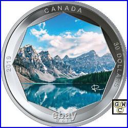 2019'Moraine Lake-Peter McKinnon Photo Series'Prf $30Fine Silver 2oz. Coin(18723)