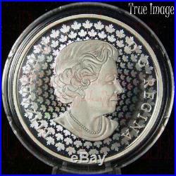 2019 Peter McKinnon #1 Moraine Lake $30 2 OZ Pure Silver Coin Canada