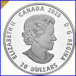 2020 CANADA 1oz Pure Silver Coin Bill Reid Xhuwaji Haida Grizzly Bear
