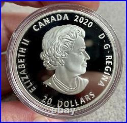 2020 Canada $20 Bill Reid Grizzly Bear Xhuwaji Haida 1 oz Silver Coin 7500 Made