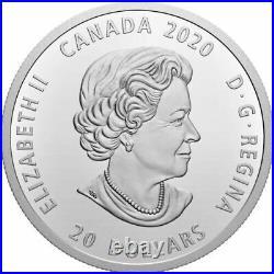 2020 Canada $20 Bill Reid Grizzly Bear Xhuwaji Haida 1oz Silver Coin NGC PF 69