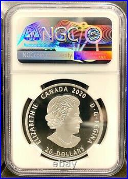 2020 Canada $20 Bill Reid Grizzly Bear Xhuwaji Haida 1oz Silver Coin NGC PF 70