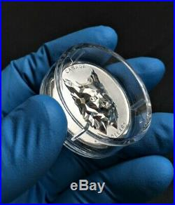 2020 Canada $25 MULTIFACETED ANIMAL HEADLYNX SILVER COIN- Mintage 2,500