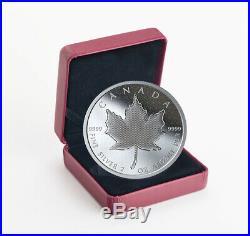 2020 Canada 2 oz Silver Pulsating Maple Leaf Proof $10 Coin GEM Proof SKU59155
