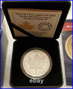 2020 First W Maple Leaf Burnished- RARE Mintage of ONLY 10,000 SOLD OUT
