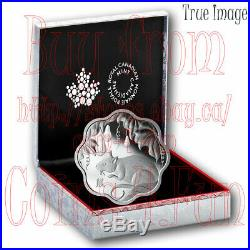 2020 Lunar Lotus Year of the Rat $15 Pure Silver Proof Coin Canada