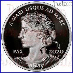 2020 Peace Dollar $1 1 OZ Pure Silver Proof Coin Canada