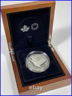2021 2020 Canada Flying Loon Silver Dollar R&D Lab Coin Numismatic First Rare