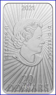 2021 CANADA $20 UFO Unexplained Phenomena MONTREAL Incident 1oz Silver Coin