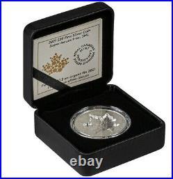 2021 Canada $20 Maple Leaf Super Incuse Reverse Proof 1 oz Silver Coin Privy 25