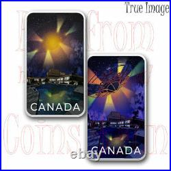 2021 Montreal UFO Incident #4 $20 Unexplained Phenomena Pure Silver Glow Coin