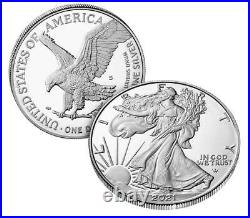 2021-S American Silver Eagle Proof One Ounce Coin 21EMN San Francisco Mint