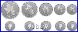2022'A Radiant Crown' Fractional Set of 5 Fine Silver ML Coins(RCM 200611)20225