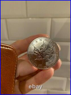 4 coins 2011 1oz Canadian Silver Maple Leaf Bullion Coins uncirculated