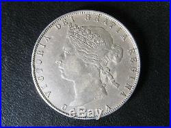 50 cents 1870 LCW Canada Queen Victoria silver coin 50c 50¢ half dollar VF-30