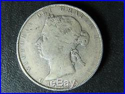 50 cents 1894 Canada Queen Victoria large silver coin 50c 50¢ half dollar VG-8