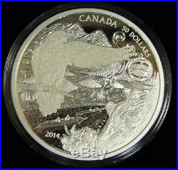 5oz. 9999 Fine Silver Legend of the Spirit Bear Coin $50 Royal Canadian Mint