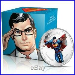 75th Anniversary of Superman Modern day 2013 Canada $15 Fine Silver Coin