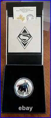 Batman vs Superman Dawn of Justice, $10 Fine Silver Coin Box Set of 4 RCM