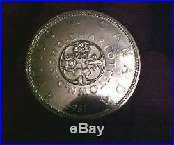 Bu Roll Of Canadian Silver Dollars, 6 -1964, 4 1965's & 10 1967 Pretty Coins