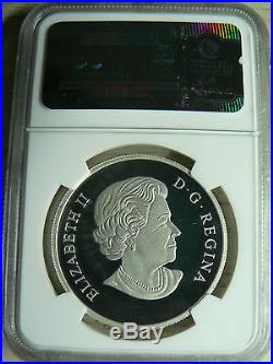 Canada 15 Dollars 2016 Year Of The Sheep Ngc Pf-70 Ultra Cameo Fine Silver Coin