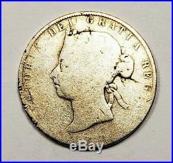 Canada 1899 Silver 50 Cents Half Dollar Coin