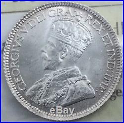 Canada 1931 10 Cents ICCS MS 65 GEM UNC Silver Dime Wonderful Coin