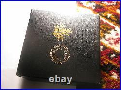 Canada 2010 $20 Fine Silver Coin Crystal Snowflake Tanzanite Rare RCM Pack