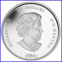 Canada 2010 $250 Banff National Park, 125th Anniversary. 9999 Silver Kilo Coin