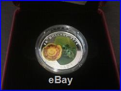 Canada 2011 Ladybug 2012 Bumble Bee 2013 Butterfly 2014 Frog Glass silver coin