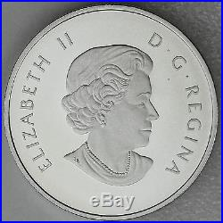 Canada 2013 $10 Orca ½ oz. Pure Silver Matte Proof Coin O Canada Series #10