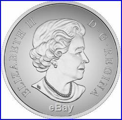 Canada 2014 $100 The Majestic Bald Eagle 1oz. 9999 Pure Silver Coin Proof