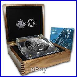 Canada 2014 500$ Canadian Monuments National Aboriginal Veterans 5KG Silver Coin