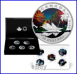 Canada 2016 5 X 20$ Geometry In Art Series 5-Coin Subscription Silver Coin