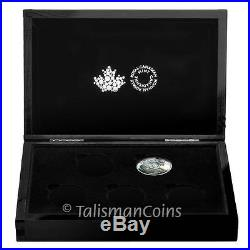Canada 2016 Iconic Animals #11 Canadian Lynx $20 Silver Proof in 5 Coin Case Box
