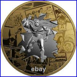 Canada 2017 DC Comic Original Superman All Star Comic $50 3 Oz. Silver Coin