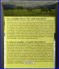 Canada Face Value Series 2015 $100 for $100 Fine Silver Coin Canadian Horse, UNC