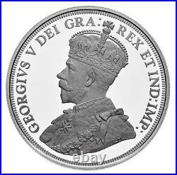 Canada Proof Silver Dollar $1 Coin 100th Anniversary Bluenose Schooner 2021