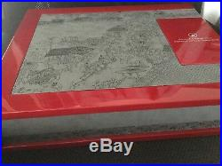Canada Scalloped Silver Coin Set Lunar Series Display Case Tiger Rabbit