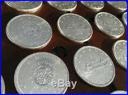 Canada Silver Dollar Coin Lot Bullion