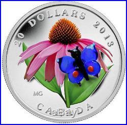 Canada Venetian Glass Silver Coin Set 2012-13-14beebutterflyfrog+ Bonus