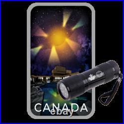 Canada's Unexplained Phenomena (Montreal UFO) $20 Silver Coin, 2021
