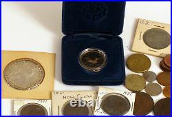 Coin Lot Great Britain King Queen New Foundland Prince Edward Island Canada Rare