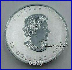 Moneda 2 Oz Canada Goose Ganso 2020 Plata Coin Silver 10 Dollar Dolares $10 10$