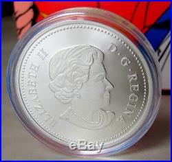 Royal Canadian Mint 75th Anni 1 oz $20 Fine Silver Coin Superman S-shield 2013