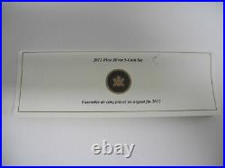Royal Canadian Mint Rare 2012 Canada Penny Adieu Farewell Fine Silver 5 Coin Set